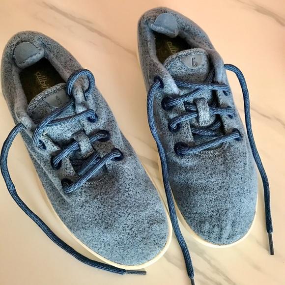 All Birds Rare Blue Wool Runners